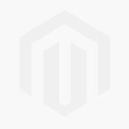 White High Gloss Counter With Glass Front & Open To Rear